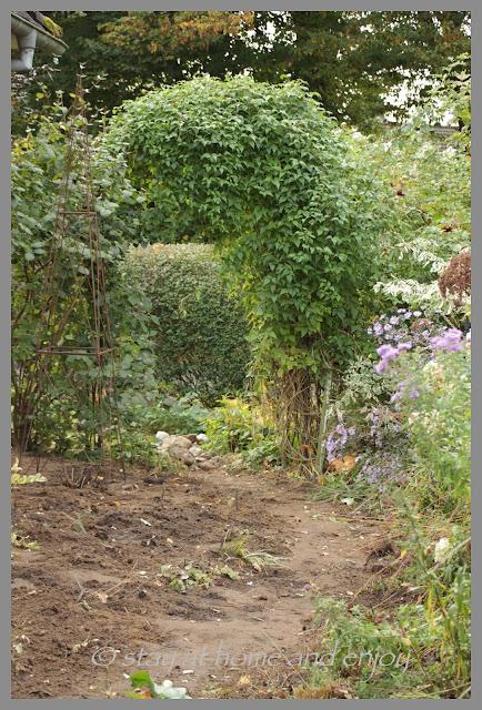 Herbst im Garten - stay at home and enjoy