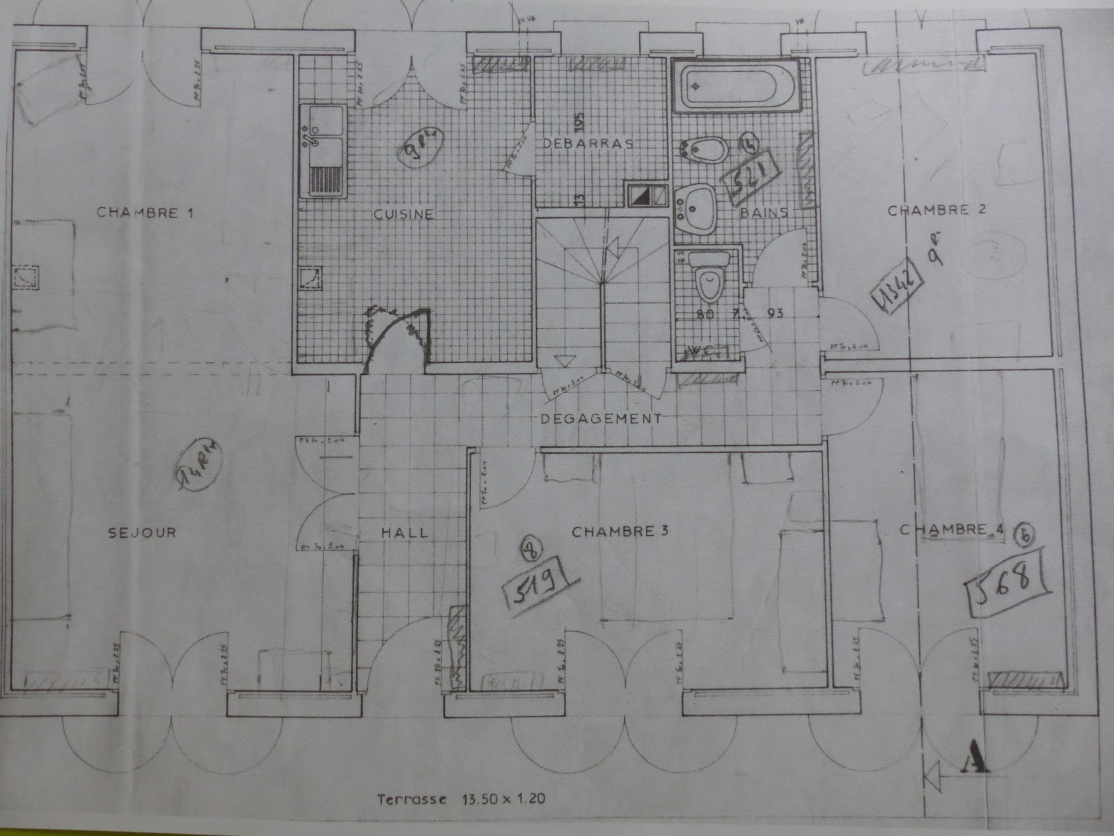 une maison sylvestre rez de chauss e un avant et un apr s. Black Bedroom Furniture Sets. Home Design Ideas