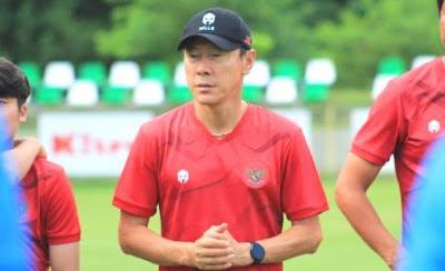 Indonesian National Team Wins First Point through Kans Shin Tae-Young