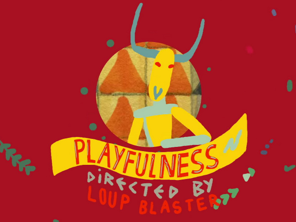 Clap! Clap! - '(P) Playfulness' Official Video (Black Acre) | Directed by Louise Philia (Loup Blaster)