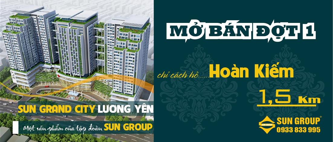 Mở bán Sun Grand City số 3 Lương Yên