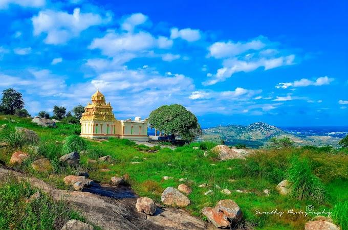 The stunning Greens of Sri Chandra mouleshawara Betta