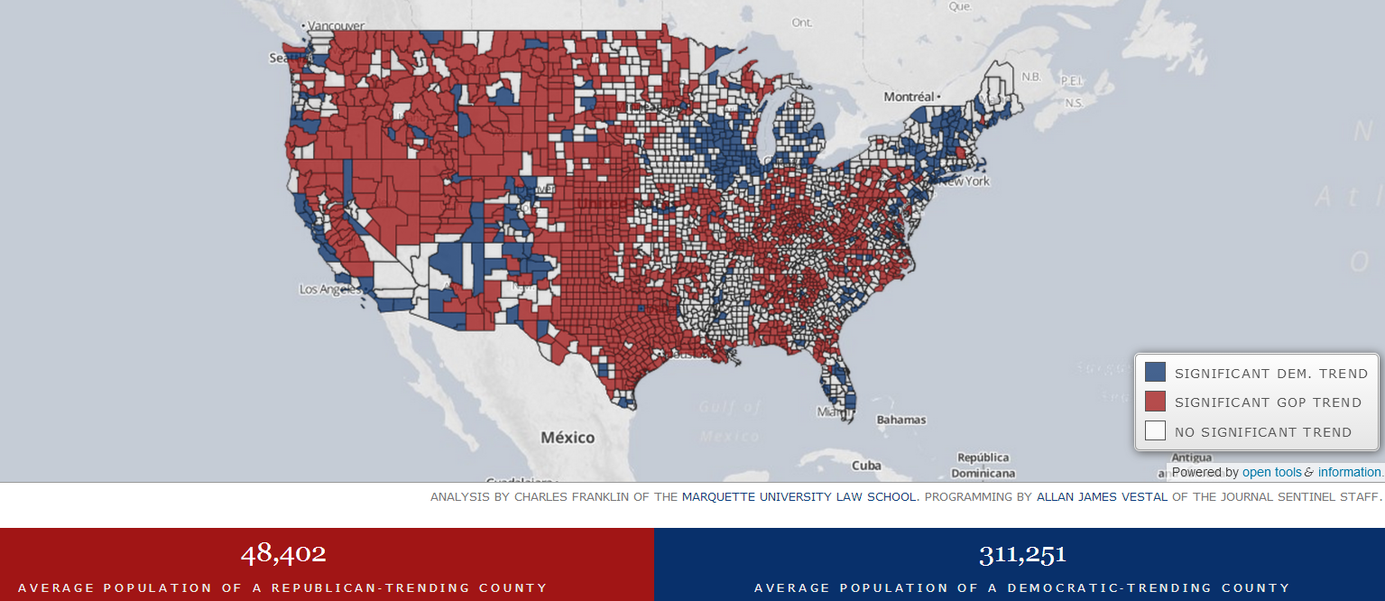 the interactive map here is a great tool to see how your county is trending the following are screen shots that tell the story click pic to enlarge