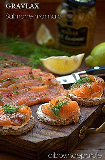 Gravlax – Salmone marinato