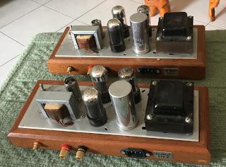 Magnavox 6V6 push pull tube mono blocks (sold) Magnavox%2B6v6%2B2
