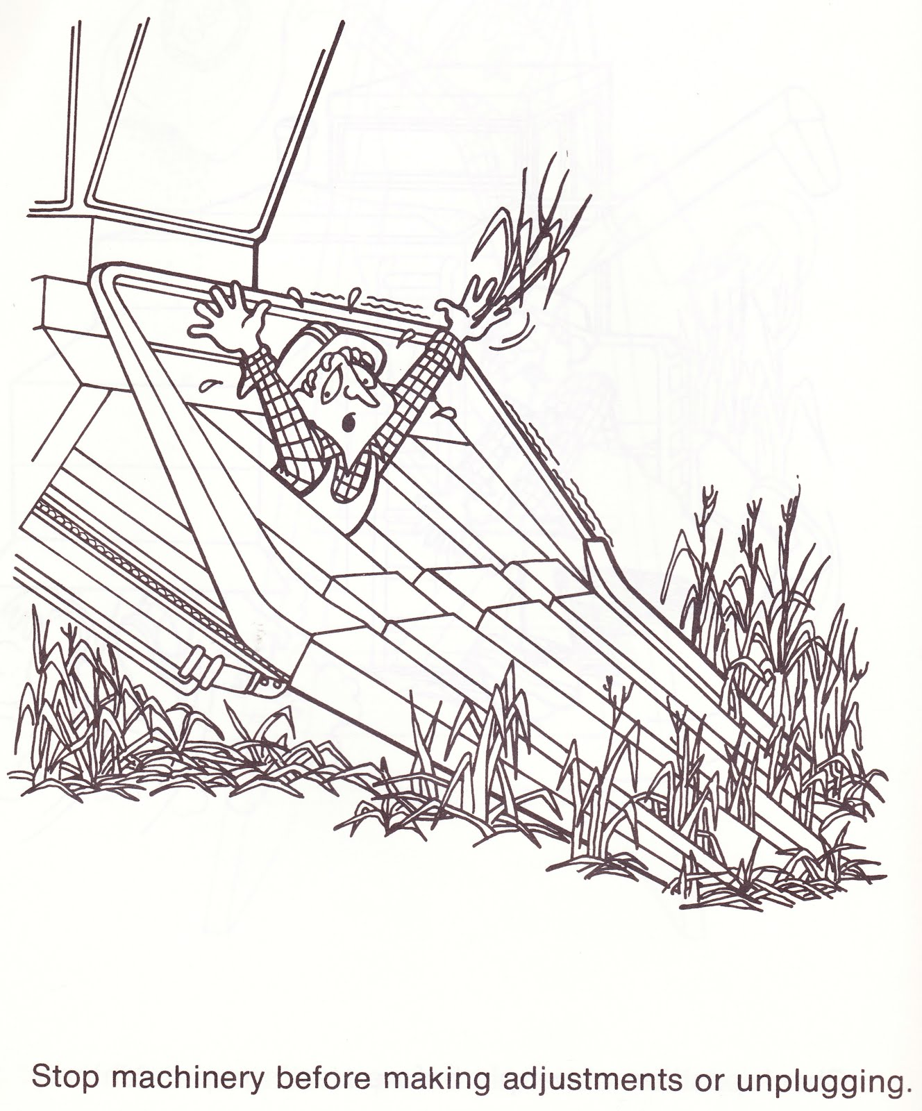 Workplace Safety Coloring Pages