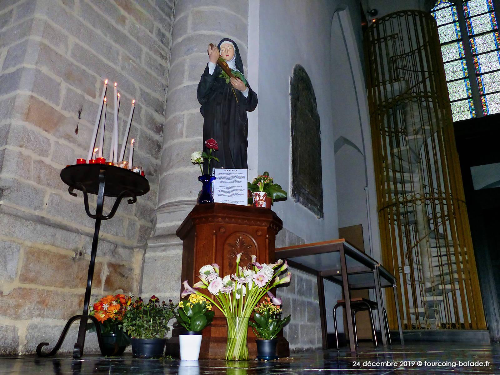 Église Saint Christophe Tourcoing - Sainte Rita, 2019
