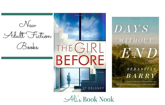 new psychological thriller and historical fiction novels for adults