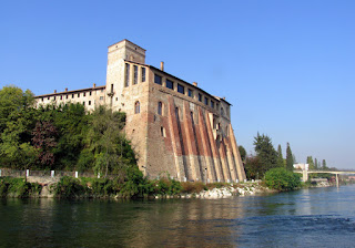 The Borromeo Castle at Cassano d'Adda