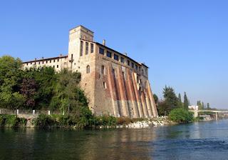 The Borromeo Castle at Cassano d'Adda