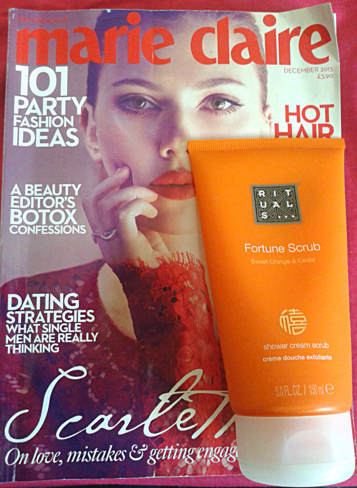 Rituals Fortune Scrub, free with Marie Claire