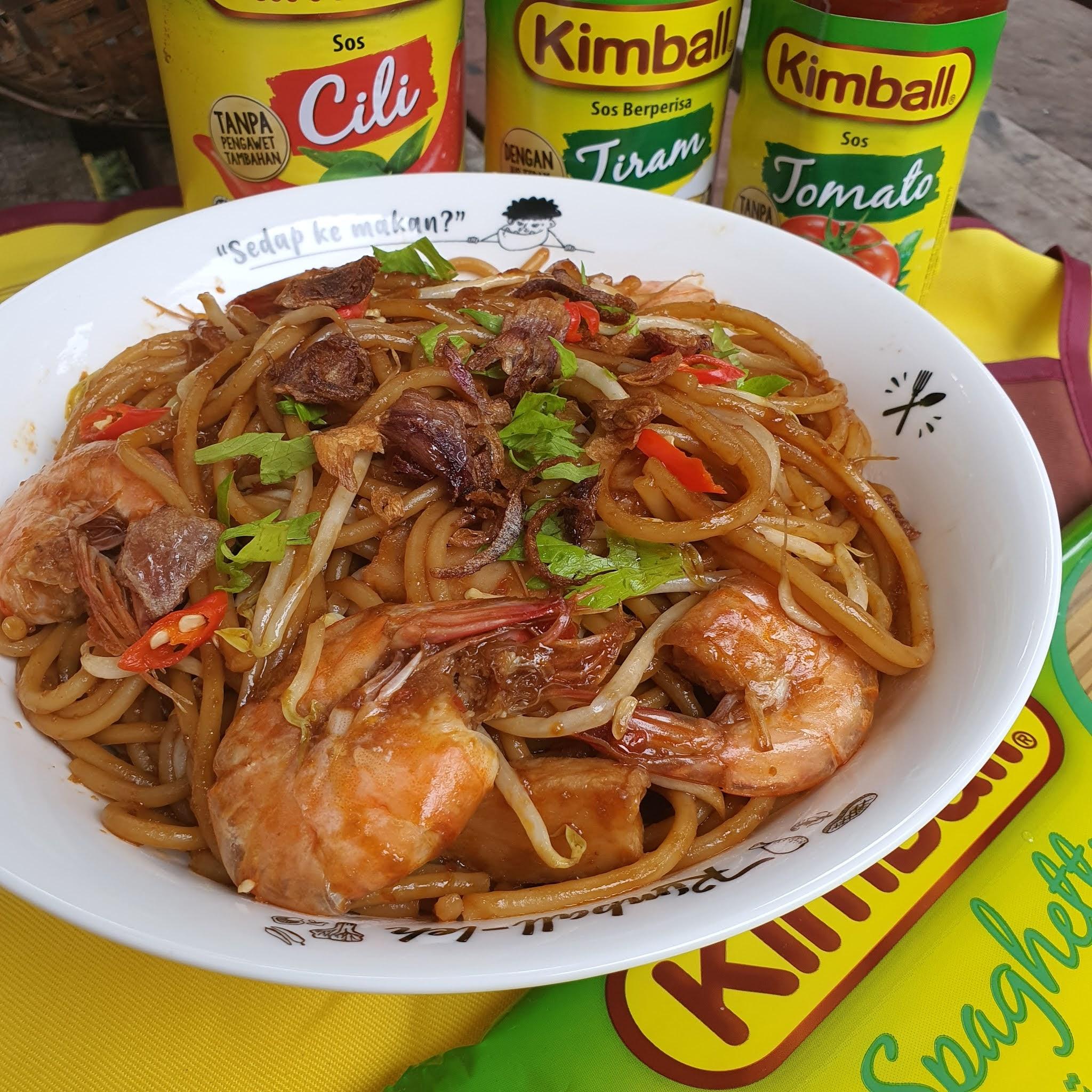 Fried spaghetti, resipi spaghetti goreng, spaghetti recipe, resipi spaghetti goreng mudah, resipi mee goreng, resipi kimball, barang kimball,