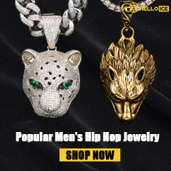 Helloice Hip Hop Jewelry For Men