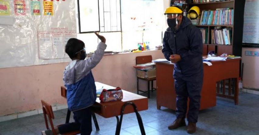 MINEDU: Más de 400 colegios de zonas rurales ya han empezado clases semipresenciales