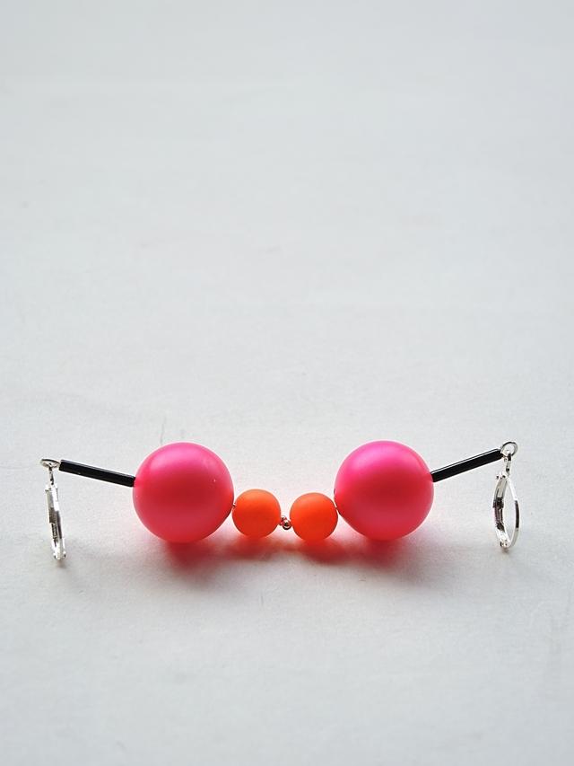 DIY oorbellen/earrings '1985'