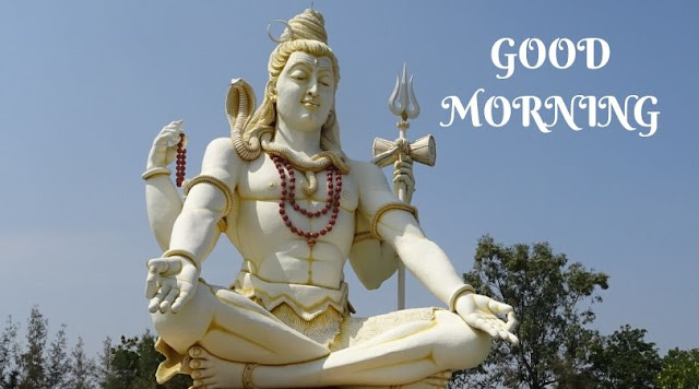 good morning pic god shiva