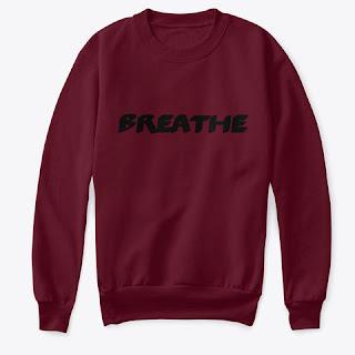 Breathe Kids Crew Neck Sweatshirt Maroon