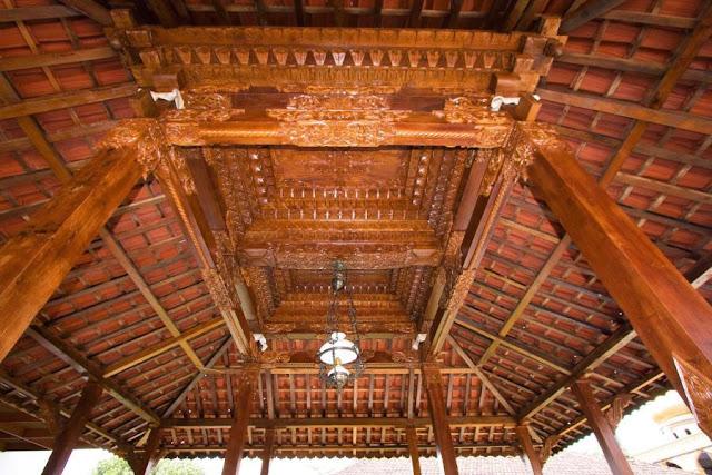 desain atap pendopo