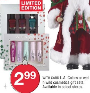 L.a. Colors Or Wet N Wild Cosmetics Gift Sets