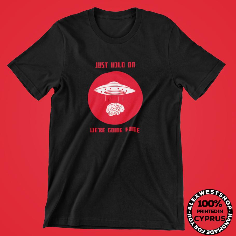 alien ufo brain funny t shirt tshirt t-shirt hoodie spreadshirt redbubble teepublic cafepress society6