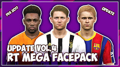 PES 2017 RT Mega Facepack AIO 2020 + Update VOL 4 by Rean Tech