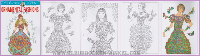 kleurboek  ornamental fashions