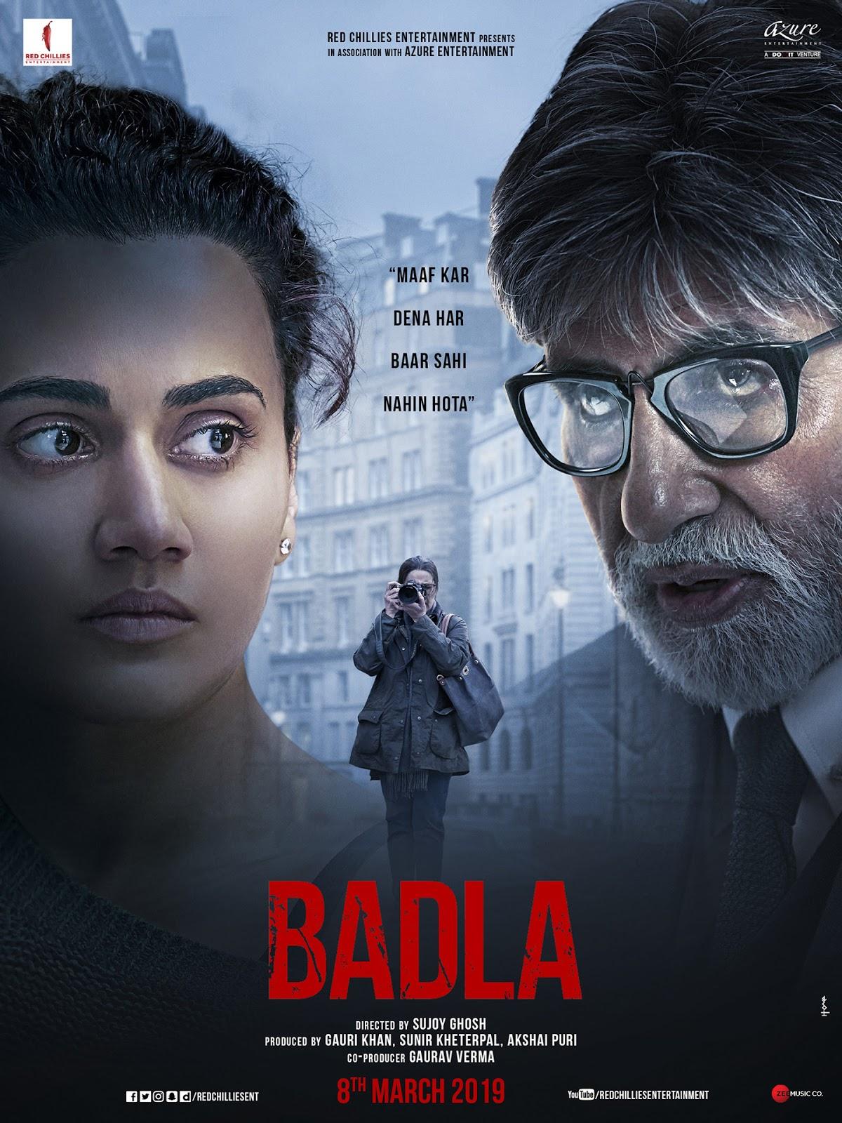 BADLA Digital Rights | Watch Badla Online | Badla on Netflix