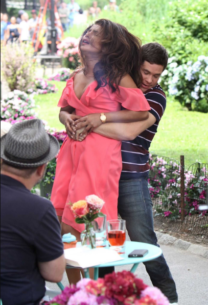 Priyanka Chopra Spicy Pics Been Groped By the Actor, on the Set of Isnt It Romantic