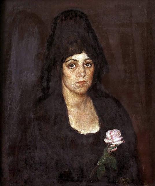 Spanish woman, Armando Montaner Valdueza, International Art Gallery, Self Portrait, Art Gallery, Montaner Valdueza, Portraits of Painters, Fine arts, Self-Portraits, Painter Armando Montaner Valdueza