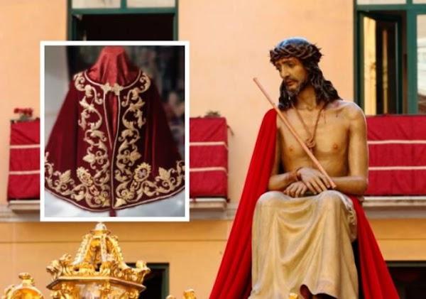 El Cristo de Estudiantes lucirá la clámide del de San Esteban de Sevilla en el Vía Crucis de Málaga