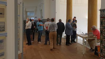 Escuela de Comercio, Gijón, matasellos, exposición, filatelia
