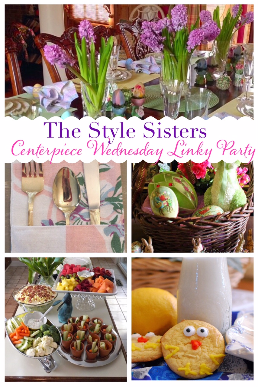 Easter tablescapes and treats- The Style Sisters