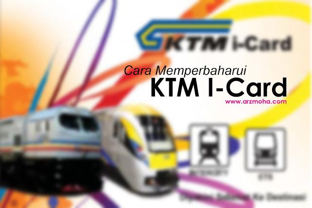 cara renew KTM i-Card secara online, cara memperbaharui ktm i-card secara online, perbaharui ktm i-card online, ktm i-card untuk pelajar, permohonan baru KTM I-card secara online, harga perbaharui KTM i-card