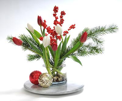 Holiday Tulip Design by Bill Prescott