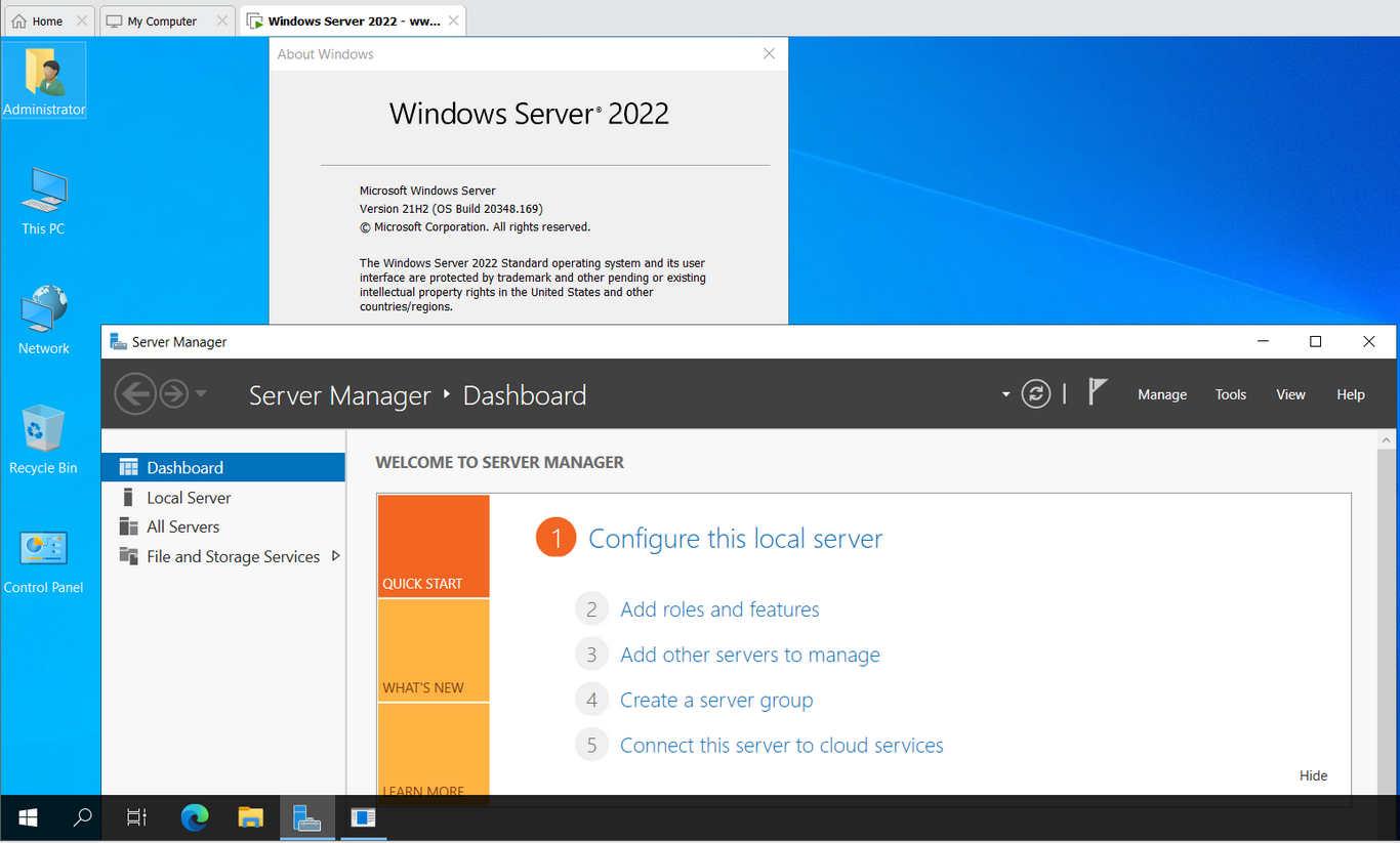 Download Windows Server 2022 ISO + Key bản quyền và những tính năng mới nhất.