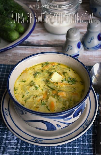 Zupa ze świeżych ogórków – kuchnia podkarpacka