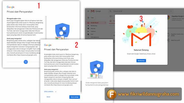 Tutorial Membuat Email Gmail dan Tips Memperkuat Keamanan Akun Google cara daftar account mail pribadi baru gratis yang baik dan benar bikin verifikasi password online lupa sandi nomor HP android kelebihan mudah aman contoh gambar
