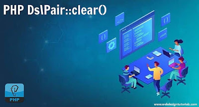 PHP Ds\Pair::clear() Function