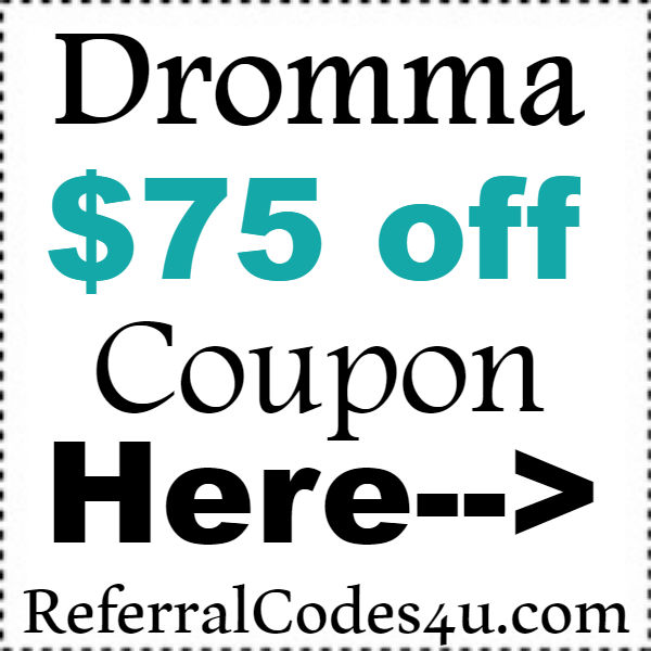 Dromma Bed Discount Coupon 2016-2017, Dromma Mattress Promo Code September, October, November