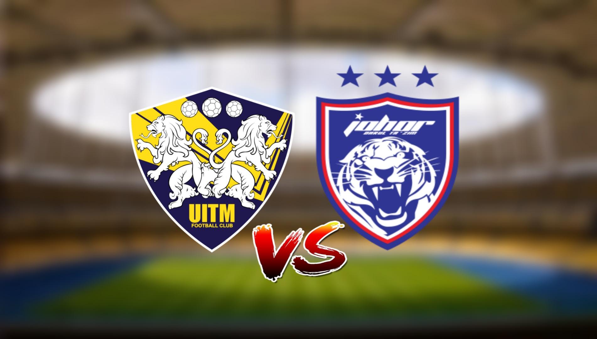 Live Streaming UITM FC vs JDT FC Liga Super 13.3.2021