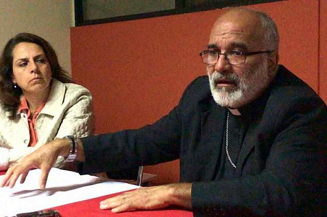 Mons. Jaime Villarroel testemunha em Cidade do México