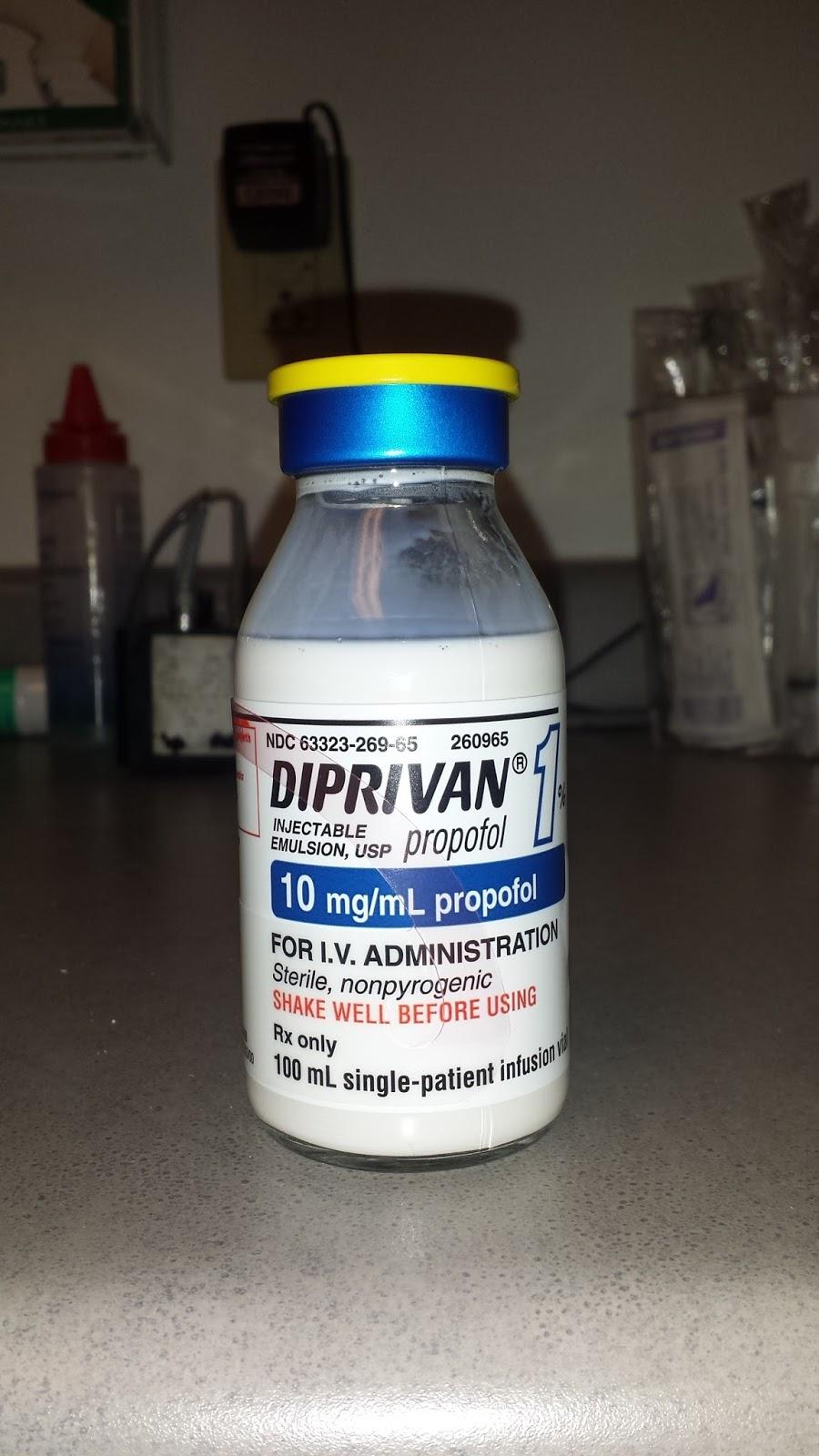 Medical Evidence Blog: DIPSHIS: Diprivan Induced Pseudo