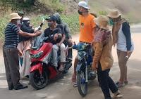 Warga Ber-KTP Luar Kota Bima Dilarang Masuk Wilayah Kelurahan Kolo