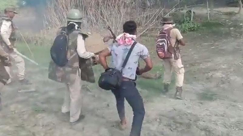 Shot By Assam Police