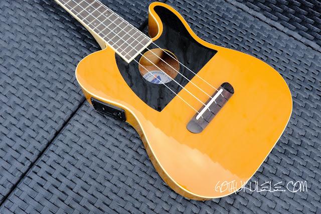 Fender Fullerton Tele Ukulele body