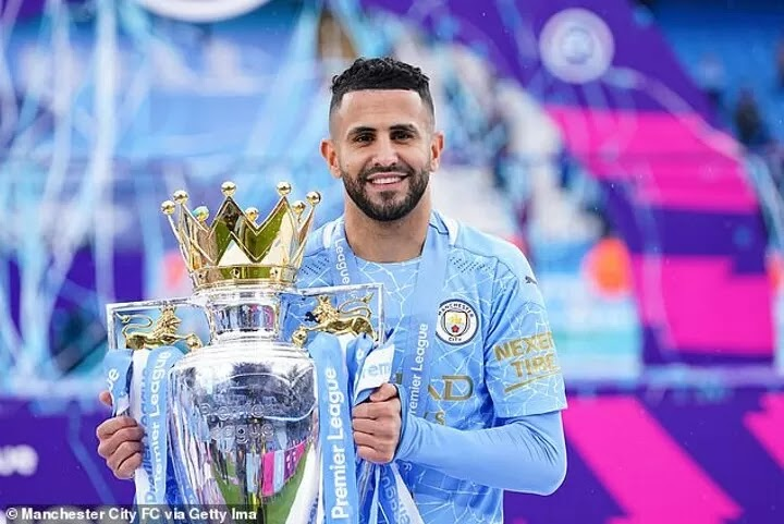 Mahrez rejects Arsenal rumours and hopes to stay at Man City