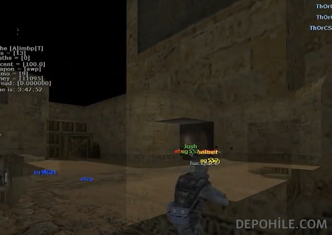Counter Strike 1.6 QX-XK v1 Aimbot, ESP Hilesi İndir 2020