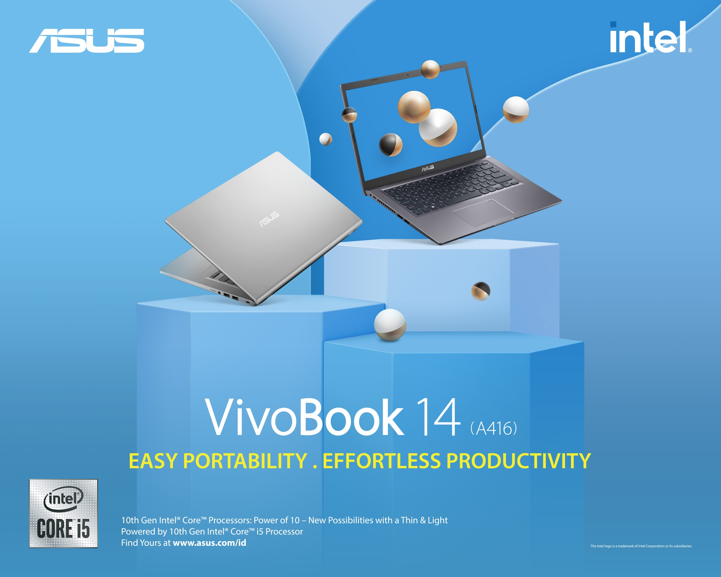 Pajokka - Produktif dengan ASUS VivoBook 14 (A416)