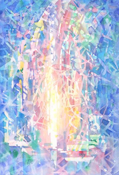 Марина Трушникова, энергетическая живопись