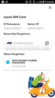 Melacak Pesanan Kartu Perdana Telkomsel By.U